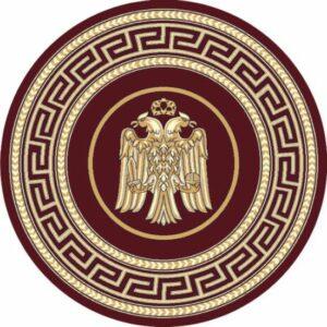 ΧΑΛΙ ΕΚΚΛΗΣΙΑΣ BYZANTIUM 8242 CHERRY