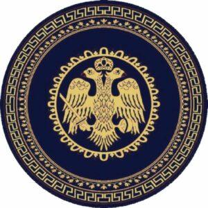 ΧΑΛΙ ΕΚΚΛΗΣΙΑΣ BYZANTIUM 483 NAVY ROUND