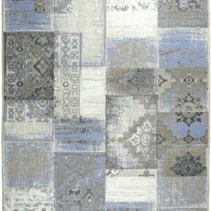 Χαλί ψάθινο ASTURIAS 221X BEIGE -BLUE
