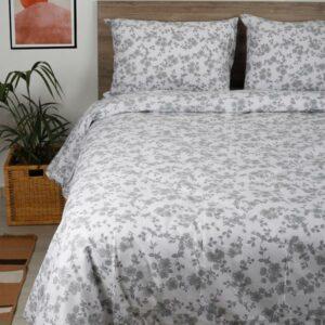 Σετ Σεντόνια Cotton Feelings 3240 Grey
