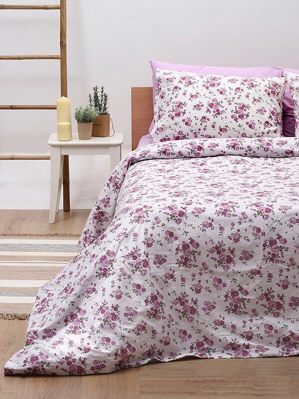 Παπλωματοθήκη Cotton Feelings 929 Lilac