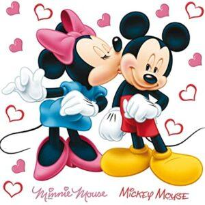 Αυτοκόλλητα Τοίχου Mickey DK S 1085