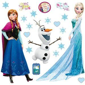 Αυτοκόλλητα Τοίχου Frozen DK S 1095
