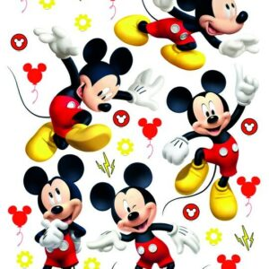 Αυτοκόλλητα Τοίχου Mickey DK S 3802