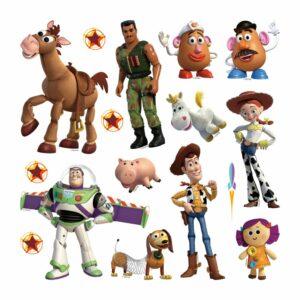 Αυτοκόλλητα Τοίχου Toy Story DK S 3810